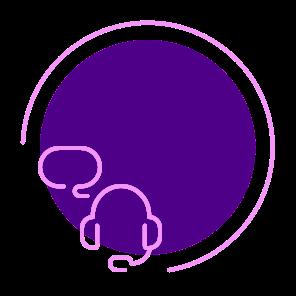 Broadband customer service circle